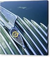 1934 Chrysler Airflow Hood Ornament Canvas Print
