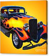 1934 Ford 3 Window Coupe Hotrod Canvas Print