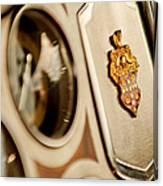 1934 Packard 1104 Super Eight Phaeton Emblem Canvas Print