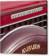 1935 Auburn Emblem Canvas Print