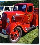 1935 Dodge Firetruck Canvas Print