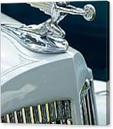 1935 Packard Sedan Hood Ornament Canvas Print