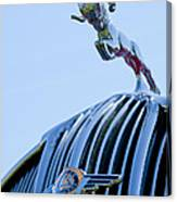 1936 Dodge Hood Ornament 2 Canvas Print