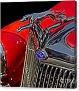 1936 Ford Model 48 Emblem Canvas Print