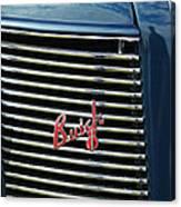 1937 Buick Grille Emblem Canvas Print