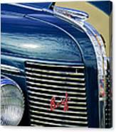 1937 Buick Hood Ornament Canvas Print