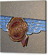 1937 Chrysler Airflow Emblem Canvas Print