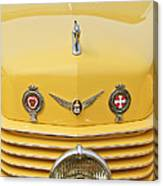 1937 Cord 812 Sc Convertible Phaeton Sedan Grille Emblems Canvas Print