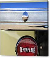 1937 Hudson Terraplane Pickup Truck Taillight Canvas Print