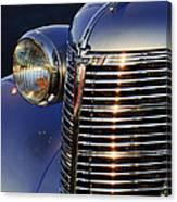 1938 Chevrolet Grille Canvas Print