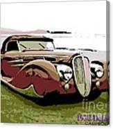 1938 Delahaye Cabriolet Canvas Print