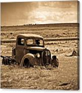 1938 Ford Pickup Canvas Print