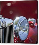 1938 Mg Ta Hood Ornament Canvas Print