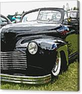 1940 Chevy Convertable Canvas Print