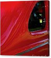 1940 Ford Coupe Side Window Canvas Print