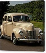 1940 Ford Deluxe Sedan Hot Rod Canvas Print