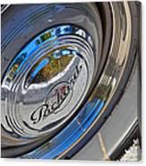1940 Packard Hubcap Canvas Print