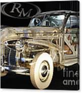 1940 Pontiac Transparent Canvas Print