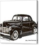 Studebaker Business Coupe Canvas Print