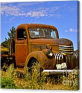 1940's Chevy Truck 2 Canvas Print