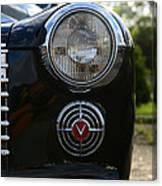 1941 Cadillac Headlight Canvas Print