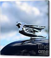 1941 Cadillac Hood Ornament - The Goddess Canvas Print