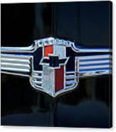 1942 Chevrolet Emblem Canvas Print