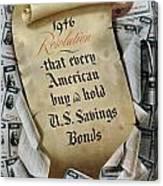 1946 Resolution  Canvas Print