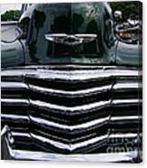 1948 Chevy Coupe Grille Canvas Print