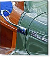 1948 Chrysler Town And Country Convertible Coupe Canvas Print