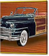 1948 Chrysler Town And Country Canvas Print