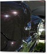 1948 Ford Super Deluxe Hood Emblem Canvas Print