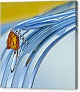 1948 Pontiac Hood Ornament 2 Canvas Print