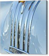 1948 Pontiac Hood Ornament 3 Canvas Print