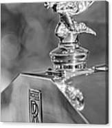 1948 Rolls-royce Hood Ornament 2 Canvas Print