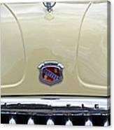 1949 Buick Super 8 Grill  Canvas Print
