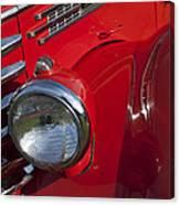 1949 Diamond T Truck Emblem Canvas Print