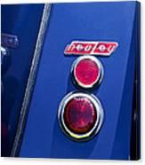 1949 Healey Silverstone Taillight Emblem Canvas Print