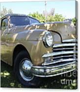 1949 Plymouth Delux Sedan . 5d16207 Canvas Print