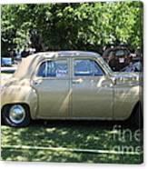 1949 Plymouth Delux Sedan . 5d16208 Canvas Print