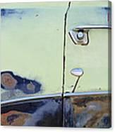 1950 Ford Crestliner Door Handle Canvas Print