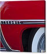 1950 Oldsmobile Rocket 88 Wheel Canvas Print