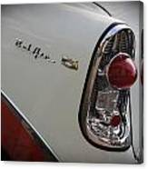 1950s Chevrolet Belair Chevy Antique Vintage Car 2 Canvas Print