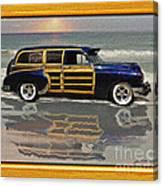 1951 Chevy Sedan Delivery Canvas Print