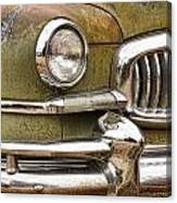 1951 Nash Ambassador Front End Closeup Canvas Print