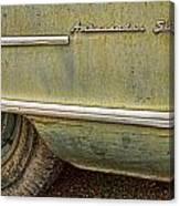 1951 Nash Ambassador Side Logo Canvas Print