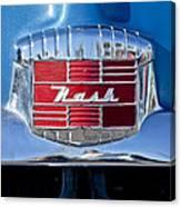 1951 Nash Emblem Canvas Print