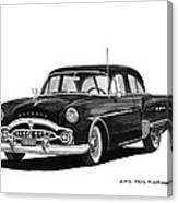 1951 Packard Patrician 400 Canvas Print