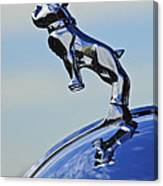 1952 L Model Mack Pumper Fire Engine Hood Ornament Canvas Print
