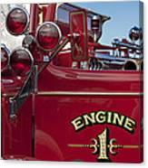 1952 L Model Mack Pumper Fire Truck 2 Canvas Print
